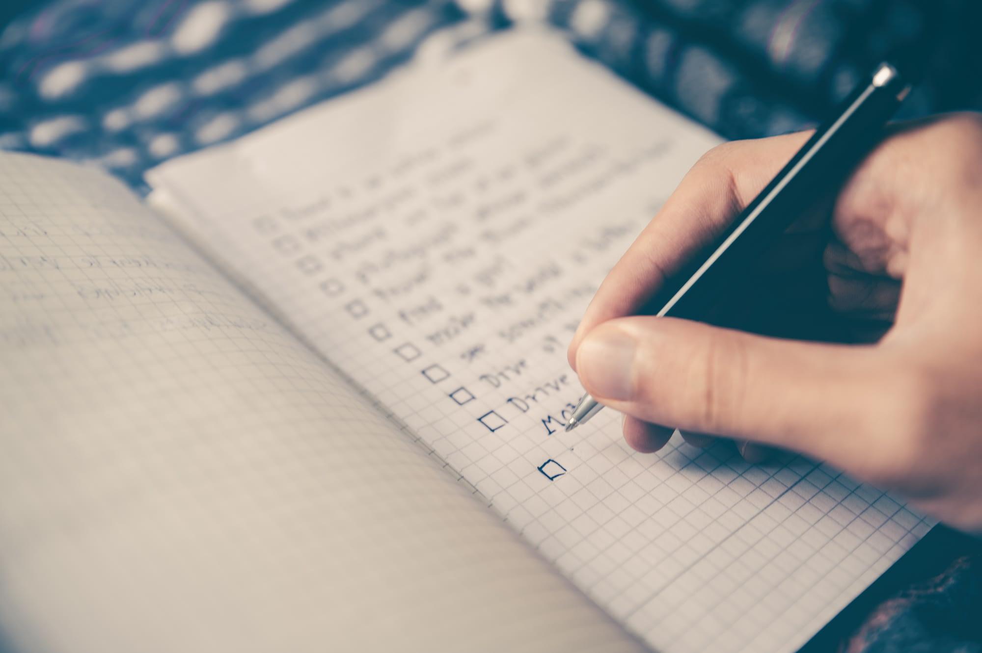 Ποια είναι η σωστή σειρά για τα tasks σου στο todo list